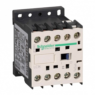 Контактор  TeSys LC1K 3P 6А 400/230 AC 2.2кВт |  код.  LC1K0610U7 |  Schneider Electric