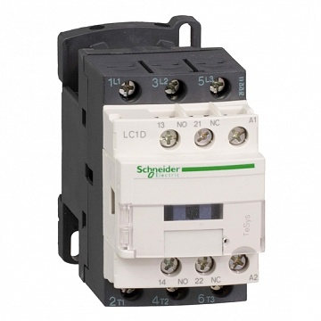 Контактор  TeSys LC1D 3P 12А 400/220В DC 11кВт |  код.  LC1D25MD |  Schneider Electric
