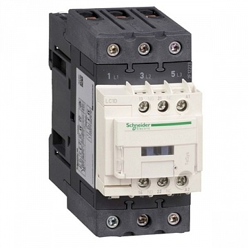 Контактор  TeSys LC1D EVERLINK 3P 80А 440/42В AC 22кВт |  код.  LC1D50AD7 |  Schneider Electric