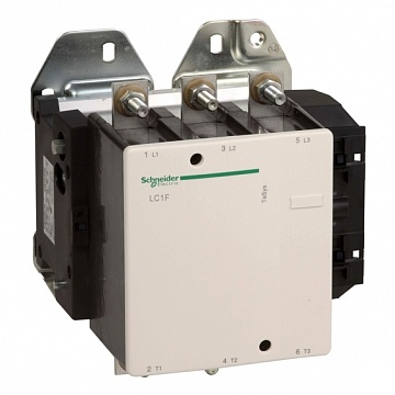 Контактор  Tesys LC1F 4P 400А 400/380В AC 200кВт |  код.  LC1F400Q7 |  Schneider Electric