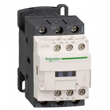 Контактор  TeSys LC1D 3P 18А 440/125В DC 9кВт |  код.  LC1D18GD |  Schneider Electric