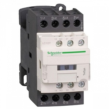 Контактор  TeSys LC1D 4P 40А 440/220В DC 22кВт |  код.  LC1DT40ML |  Schneider Electric