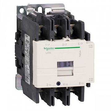 Контактор  TeSys LC1D 3P 80А 440/48В AC 45кВт |  код.  LC1D80E7 |  Schneider Electric