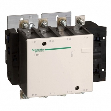 Контактор  Tesys LC1F 4P 330А 400/без катушкиВ AC 160кВт |  код.  LC1F3304 |  Schneider Electric