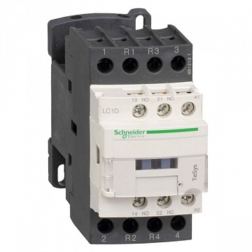 Контактор  TeSys LC1D 3P 9А 400/24В DC 4кВт |  код.  LC1D098BL |  Schneider Electric